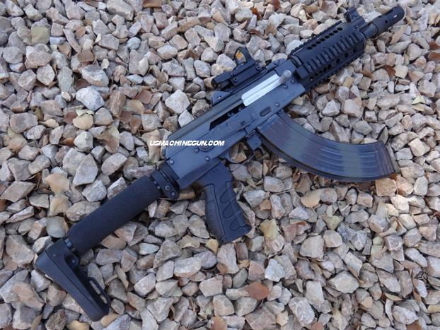 modular Lite Buttstock With Stock Adapter For Ak-47 Draco & Mini