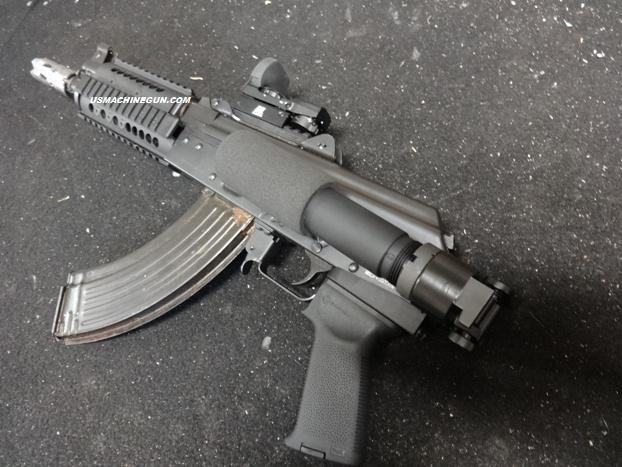 side Folding Pistol Buffer Tube And Adapter For Yugo M92/m85