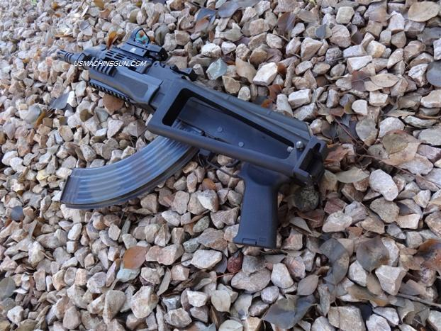 Galil Ak47 Rear Stock With Folding Adapter For Century Arms